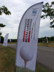 swinging for reena golf tournament